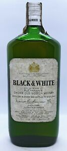 Black & White Buchanan's choice old  special blend Scotch Whisky 75 Cl. 43°