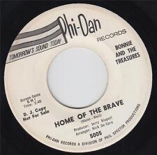 BONNIE & THE TREASURES - HOME OF THE BRAVE (PHI-DAN 5005) WHITE DJ, PROMO!!!