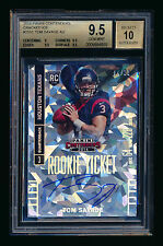 2014 CONTENDERS TOM SAVAGE RC CRACKED ICE AUTOGRAPH TEXANS 4/22 BGS 9.5 AUTO 10!
