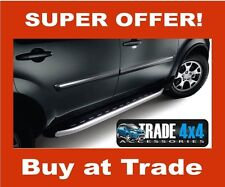 AUDI Q7 ALYANS SIDE STEPS SIDE BARS RUNNING BOARDS OEM 4X4 ACCESSORIES STYLING