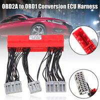 OBD2A to OBD1 Conversion ECU Jumper Harness Adapter  for Honda / Acura