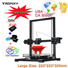 Upgradest Quality X3A Auto Level DIY 3D Printer Aluminium Frame Reprap prusa i3