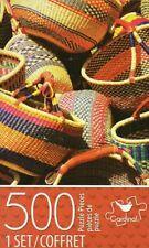 """500 Piece Jigsaw Puzzle """"Baskets"""" by Cardinal 11 ×14"""" NIB"""