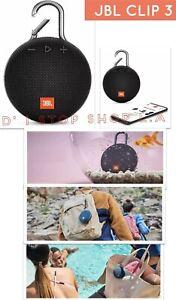 2X JBL Clip 3 Portable IPX7 Waterproof Wireless Bluetooth SUPER LOUD Speaker