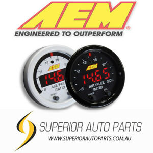 AEM X-Series Wideband 02 UEGO Air Fuel Ratio Gauge Kit 30-0300