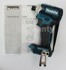Makita TD171DZ Impact Driver 18V TD171DZGX Body Tool Only Blue