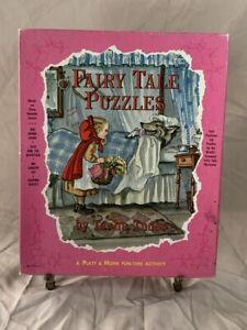 FAIRY TALE PUZZLES by Tasha Tudor - Platt & Munk - Box Only