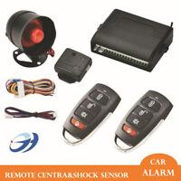 Antifurto Allarme Auto e Kit + 2 Telecomandi Chiusura Centralizzata Universale