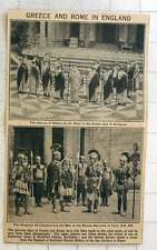 1923 Greece And Rome Re-enactment Bradfield College Berks And Spa Gardens Ripon