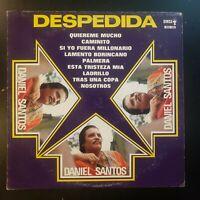 "Daniel Santos ""Despedida"" Vinyl Record LP"