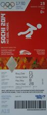 mint TICKET 19.2.2014 Olympic Sochi Russia Eisschnelllauf Speed Skating A19