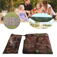 Camping Tent Tarp Sunshade Shelter Awning Mat Waterproof Hammock Cover Canopy