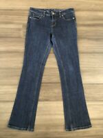 THE LIMITED Denim Women's Bootcut 312 Cotton Blend Denim Blue Jeans-Size 6R