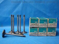 1963 1964 Chevrolet 194 230 Intake Valve Set 6 +15 Chevelle Chevy II 3786361 NOS
