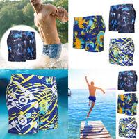 Men Summer Swim Shorts Swimwear Swimming Trunks Underwear Briefs Beach Pants Hot