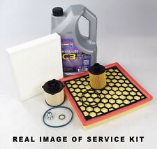 VAUXHALL INSIGNIA 2.0 CDTI SERVICE KIT OIL, AIR, FUEL, CABIN FILTER, SUMP PLUG