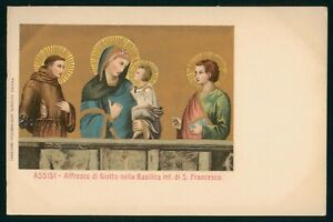 Mayfairstamps Religion PC Assis Affresco Di Giotto Nella Basilica Art Postcard w