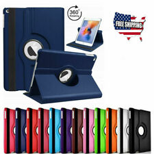 Shockproof Case Cover 360 PU Rotating Leather Folio Stand NEW For iPad 2 3 4