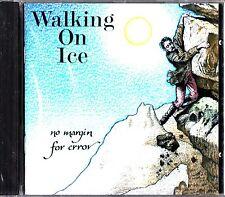 WALKING ON ICE- No Margin For Error CD (NEW 1994) PROG ROCK on Cyclops, Genesis