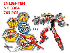 763 pcs Kids Building Toys Blocks Boys DIY Puzzle Transformers  ENLIGHTEN 3304