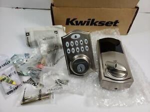 Kwikset SmartCode 914 Keypad Smart Lock, Satin Nickel