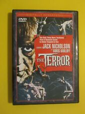 The Terror Jack Nicholson Boris Karloff Horror Terror Halloween DVD