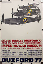 1977 Imperial War Museum Duxford 77 Flying Display Poster Peter Branfield
