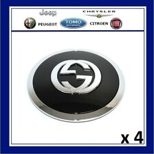 Genuine New Fiat 500 Punto Set Of 4 Alloy Wheel Gucci Centre Cap Cover 51903270