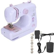 Mini Sewing Machine Portable Electric Foot Pedal Home Craft DIY Project Hemming