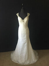 Alfred Angelo Wedding Dress- Ivory- Size 6- 2524