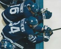 Auston Matthews Mitch Marner Toronto Maple Leafs UNSIGNED 8x10 Photo (C)