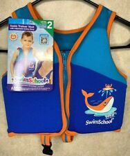 Swimschool Vest Boys Ages 2-4 Years Level 2 Trainer Vest Max Weight 33 Pounds