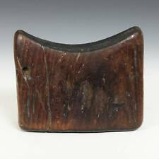 ANTIQUE AFRICAN HEADREST CARVED WOOD GURAGE ETHIOPIA EAST AFRICA 19TH C.