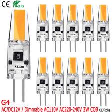 G4 3W LED COB Ampoule Silicone Lampe Eclairage Remplacement Ampoule Halogène