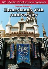 Disneyland 45th DVD Woody's Roundup, Rocket Rods, Believe Magic in the Stars