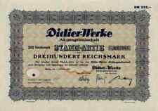 Didier obras 1932 Berlín Eisenberg marktredwitz Radex rhi 300 Reichsmark Szczecin