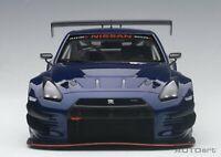 AUTOart 1/18 Nissan Skyline GT-R NISMO GT3 Aurora Flare Blue Pearl 81584 from JP