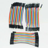 10CM 2.54MM M-M F-F F-M Breadboard Dupont Jumper Cable Wires PCB for Arduino RPi