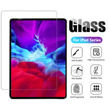 2X Tempered glass screen protector for Apple iPad Pro 11 Air 1 2 Mini 5 9.7 10.2