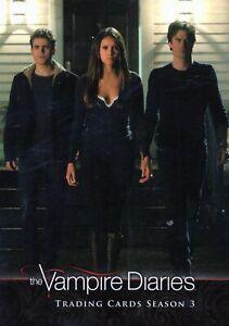 The Vampire Diaries  Season 3     Individual Trading Cards