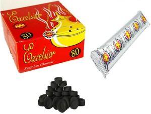 Swift Lite Charcoal For Shisha/ Hookah/ Incenses Sticks Box  8 Roll (80 Discs)