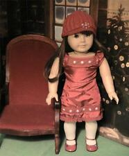 Amercan Girl Doll Scarlet and Snow Outfit  2008 Christmas Dress