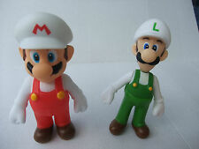 Super Mario Fire  + Luigi Fire  PVC Action Figure Toy 12cm, Ninentendo