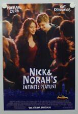 NICK & NORAH'S INFINITE PLAYLIST 2008 Michael Cera, Kat Dennings-Mini Poster