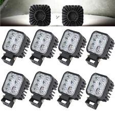 8X 12W LED Arbeitscheinwerfer Flutlicht Nebel Lampe Strahler LKW SUV Jeep DC 12V