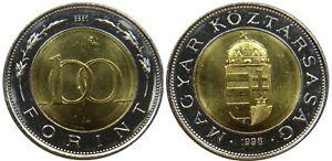 Hungary 100 Forint 1998 Bimetal Europe UNC