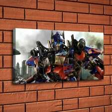 Transformers Optimus Home Decor Room HD Canvas Print Picture Wall Art Painting