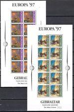 Gibraltar vellen 783-786 Europa CEPT 1997 Sagen en Legenden cat waarde € 70