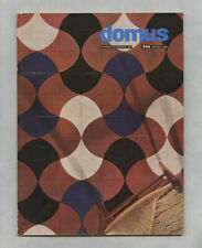 1956 Isamu Noguchi + Harry Bertoia DOMUS 322 Knoll Leonardo FIORI Augusto PICCOL