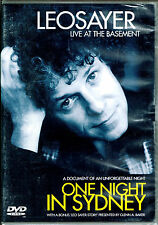 Live At The Basement - Leo Sayer, (PAL Video, 2004, Thames) BRAND NEW